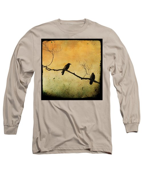 Crowded Branch Long Sleeve T-Shirt by Gothicolors Donna