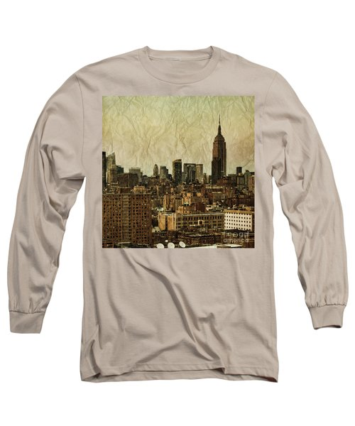 Empire Stories Long Sleeve T-Shirt by Andrew Paranavitana