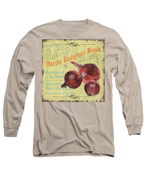 French Market Sign 4 Long Sleeve T-Shirt by Debbie DeWitt