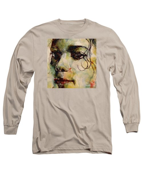 Man In The Mirror Long Sleeve T-Shirt by Paul Lovering