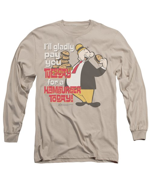 Popeye - Tuesday Long Sleeve T-Shirt by Brand A
