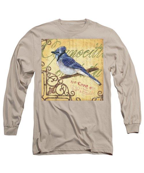 Pretty Bird 4 Long Sleeve T-Shirt by Debbie DeWitt