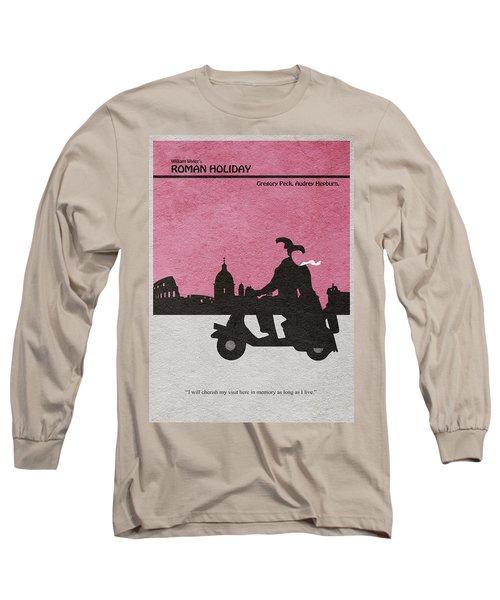 Roman Holiday Long Sleeve T-Shirt by Ayse Deniz