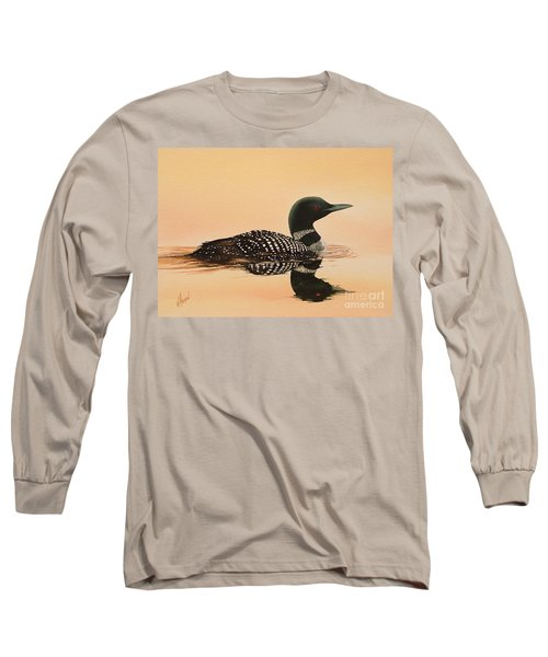 Serene Beauty Long Sleeve T-Shirt by James Williamson