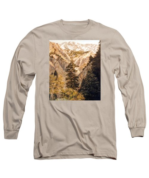 Shirley Temple Mine Long Sleeve T-Shirt by Donna Tucker