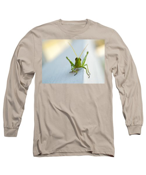 Staring At Me Long Sleeve T-Shirt by Shelby  Young