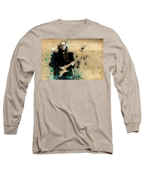 Tears In Heaven Long Sleeve T-Shirt by Bekim Art