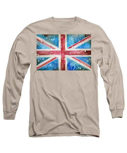 Union Jack Long Sleeve T-Shirt by Sean Parnell