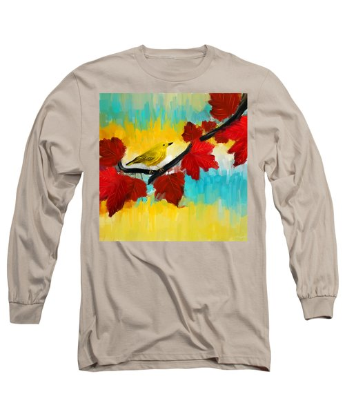 Vividness Long Sleeve T-Shirt by Lourry Legarde