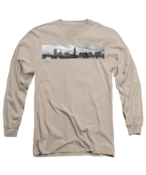 Westminster Panorama Long Sleeve T-Shirt by Heather Applegate