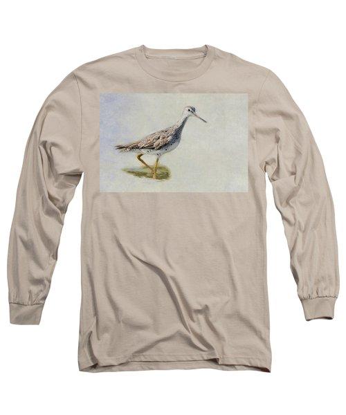 Yellowlegs Long Sleeve T-Shirt by Bill Wakeley