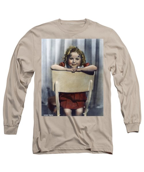 Shirley Temple (1928- ) Long Sleeve T-Shirt by Granger