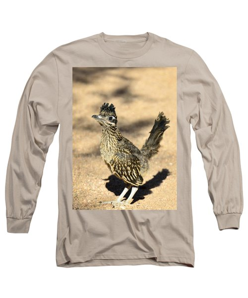 A Baby Roadrunner  Long Sleeve T-Shirt by Saija  Lehtonen