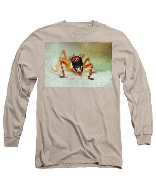 Jiminy Cricket 2 Long Sleeve T-Shirt by Kaye Menner