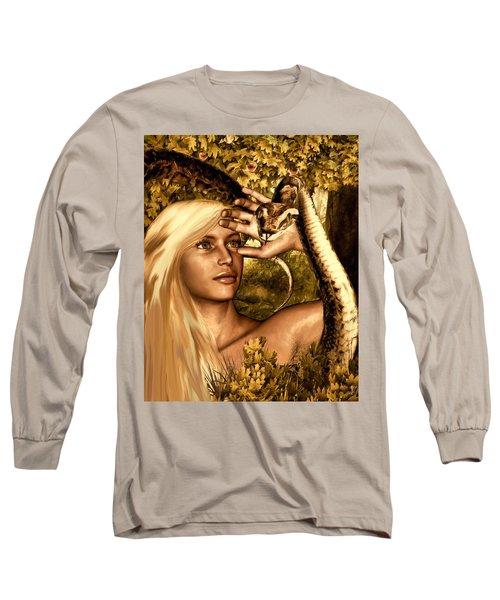 Temptation Long Sleeve T-Shirt by Lourry Legarde