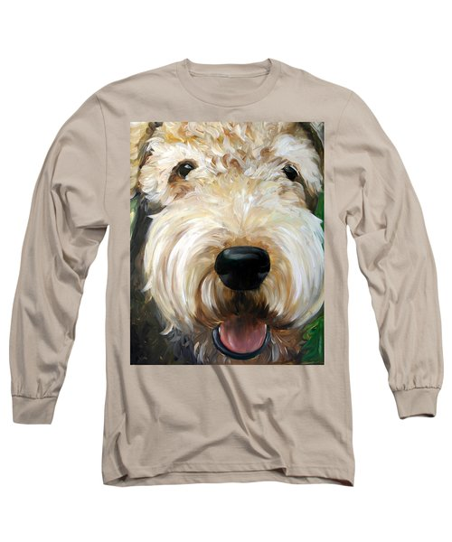 Up Close  Long Sleeve T-Shirt by Mary Sparrow