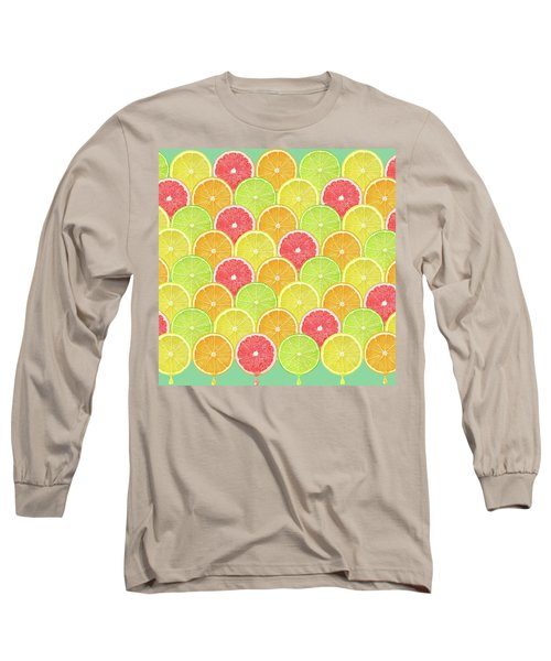 Fresh Fruit  Long Sleeve T-Shirt by Mark Ashkenazi