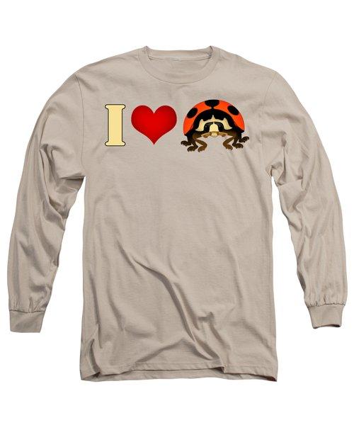 I Love Ladybugs Long Sleeve T-Shirt by Sarah Greenwell