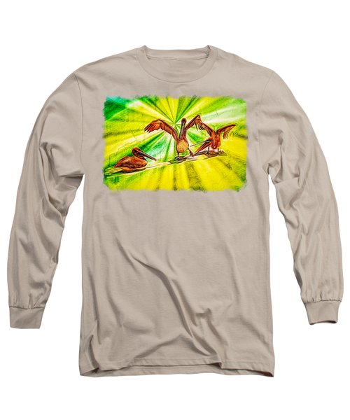 It's All Good Long Sleeve T-Shirt by John M Bailey