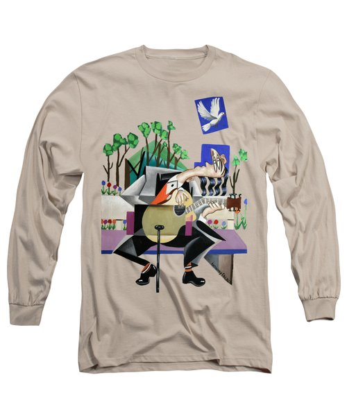 Music A Gift From The Holy Spirit Long Sleeve T-Shirt by Anthony Falbo