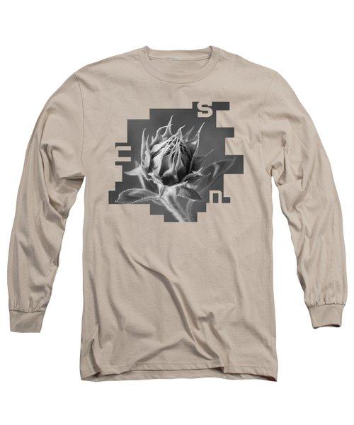 Sunflower Long Sleeve T-Shirt by Konstantin Sevostyanov