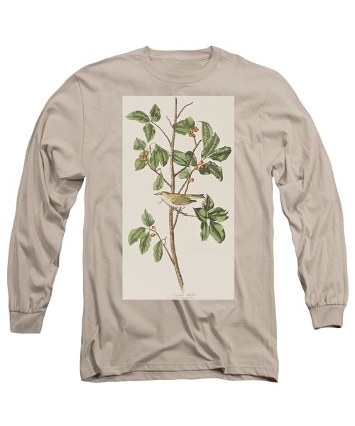 Tennessee Warbler Long Sleeve T-Shirt by John James Audubon