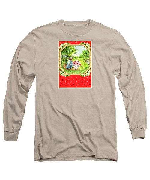 Valentine Delivery Long Sleeve T-Shirt by Lynn Bywaters