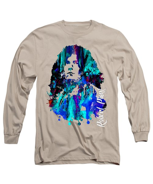 Robert Plant Collection Long Sleeve T-Shirt by Marvin Blaine