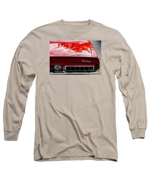 Long Sleeve T-Shirt featuring the photograph 1967 Mustang by M G Whittingham