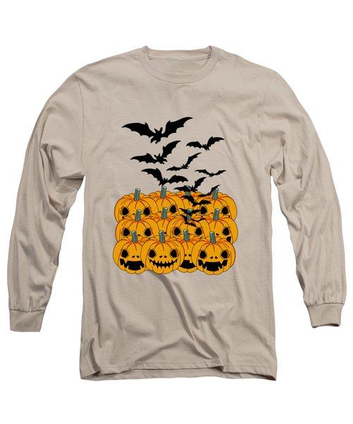 Pumpkin Long Sleeve T-Shirt by Mark Ashkenazi