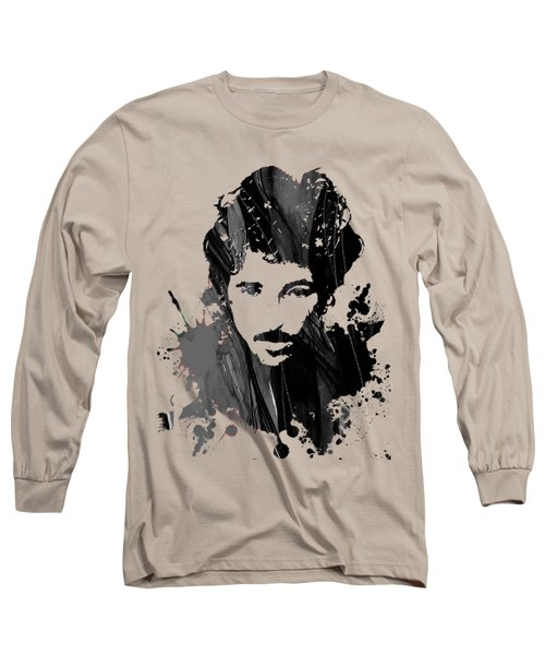 Bruce Springsteen Collection Long Sleeve T-Shirt by Marvin Blaine