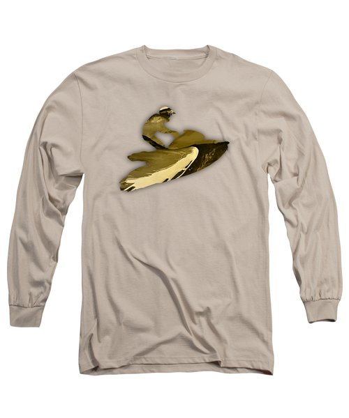 Jet Ski Collection Long Sleeve T-Shirt by Marvin Blaine