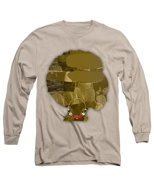 African America Long Sleeve T-Shirt by Marvin Blaine