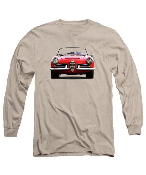 Alfa Romeo Spider Long Sleeve T-Shirt by Mark Rogan