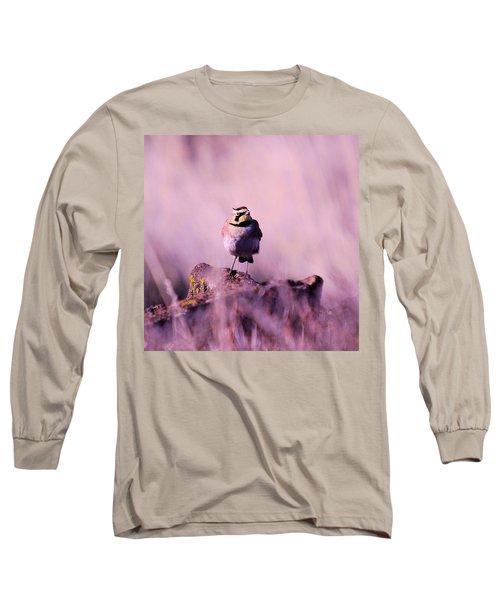 An Searching Gaze  Long Sleeve T-Shirt by Jeff Swan