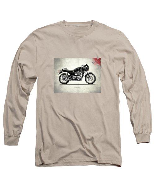 Triumph Thruxton Long Sleeve T-Shirt by Mark Rogan