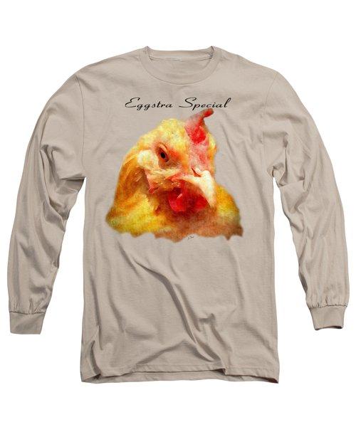 Goldie's Turn - Silk Paint Long Sleeve T-Shirt by Anita Faye