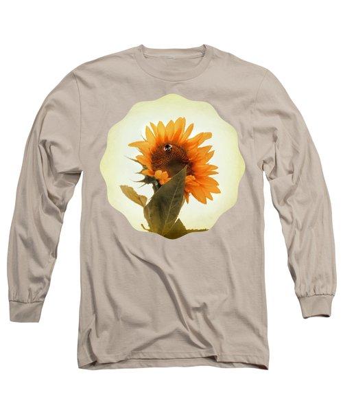 Bee Mine - Paint Long Sleeve T-Shirt by Anita Faye