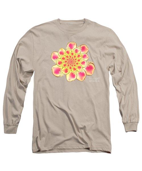 Lotus Long Sleeve T-Shirt by Anastasiya Malakhova