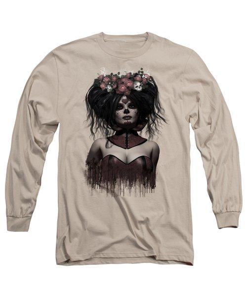 La Catrina Long Sleeve T-Shirt by Shanina Conway