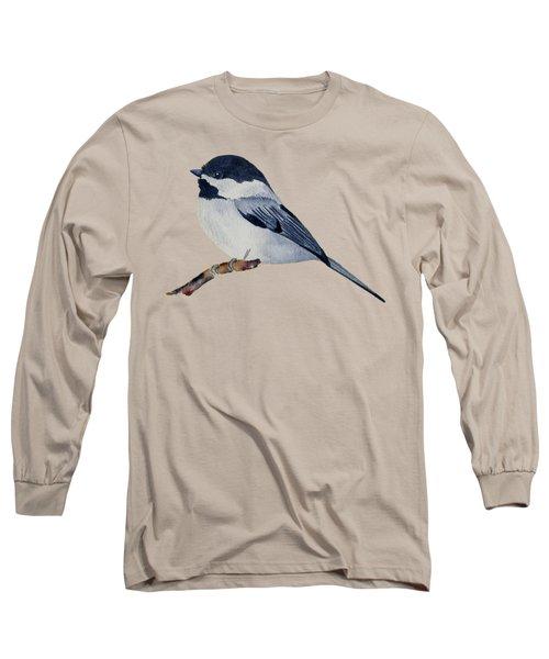 Chickadee Long Sleeve T-Shirt by Francisco Ventura Jr