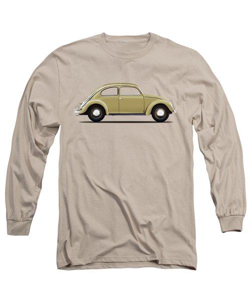 Vw Beetle 1946 Long Sleeve T-Shirt by Mark Rogan