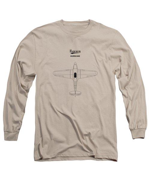 The Hawker Hurricane Long Sleeve T-Shirt by Mark Rogan