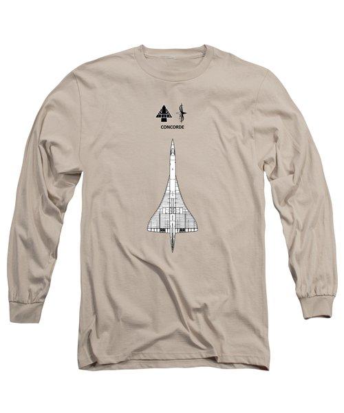 Concorde Long Sleeve T-Shirt by Mark Rogan