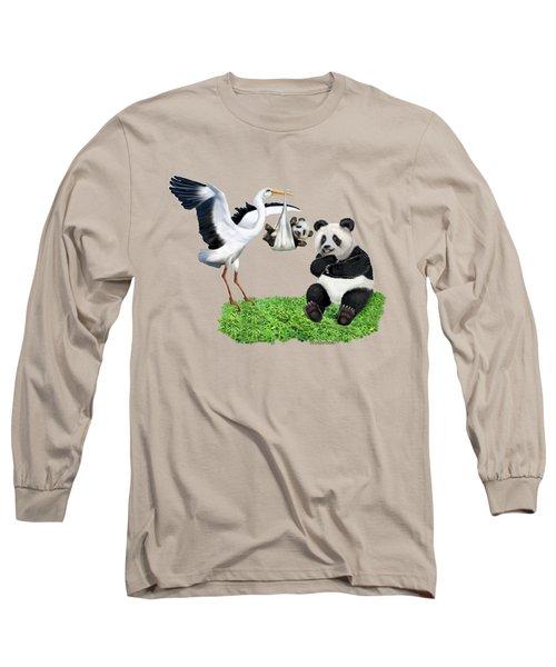 Bundle Of Joy Long Sleeve T-Shirt by Glenn Holbrook
