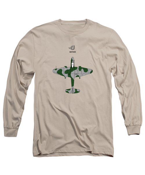 Gloster Meteor Long Sleeve T-Shirt by Mark Rogan