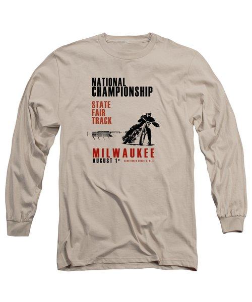 National Championship Milwaukee Long Sleeve T-Shirt by Mark Rogan