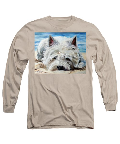 Beach Bum Long Sleeve T-Shirt by Mary Sparrow
