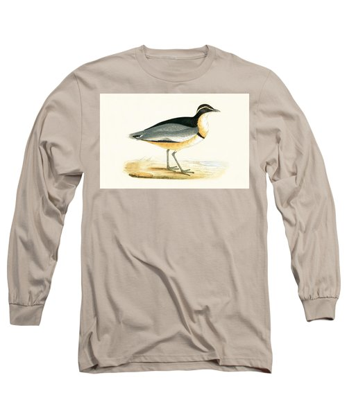 Black Headed Plover Long Sleeve T-Shirt by English School