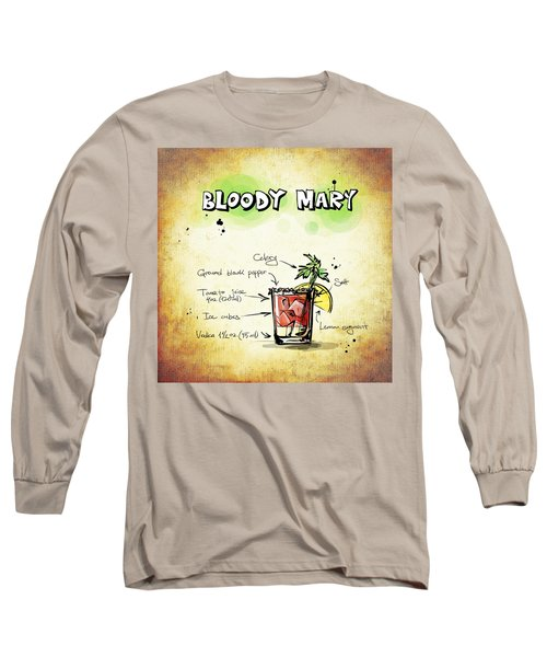Bloody Mary Long Sleeve T-Shirt by Movie Poster Prints